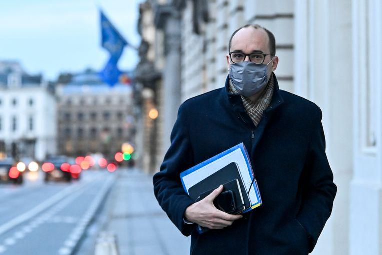 Minister van Financiën Vincent Van Peteghem. Beeld BELGA