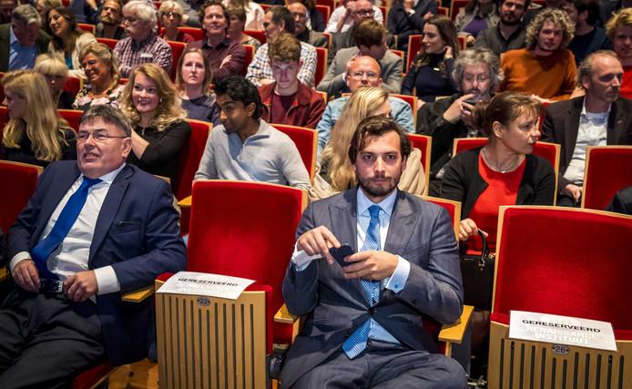 Baudet tijdens de jaarlijkse lezing van het Renaissance Instituut, het wetenschappelijk bureau van Forum voor Democratie.