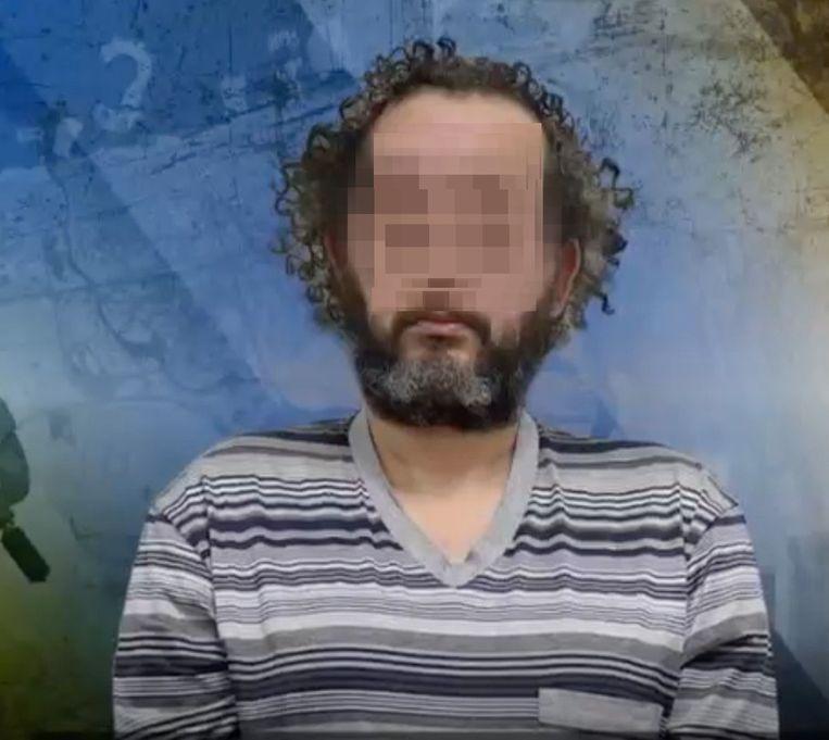 De Dubai Police gaf na Taghi's aanhouding deze foto vrij aan Nieuwsuur.  Beeld Nieuwsuur
