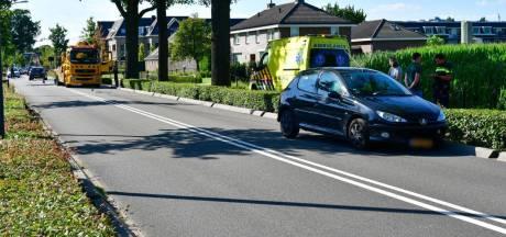 Automobilist wordt onwel en veroorzaakt botsing in Westervoort