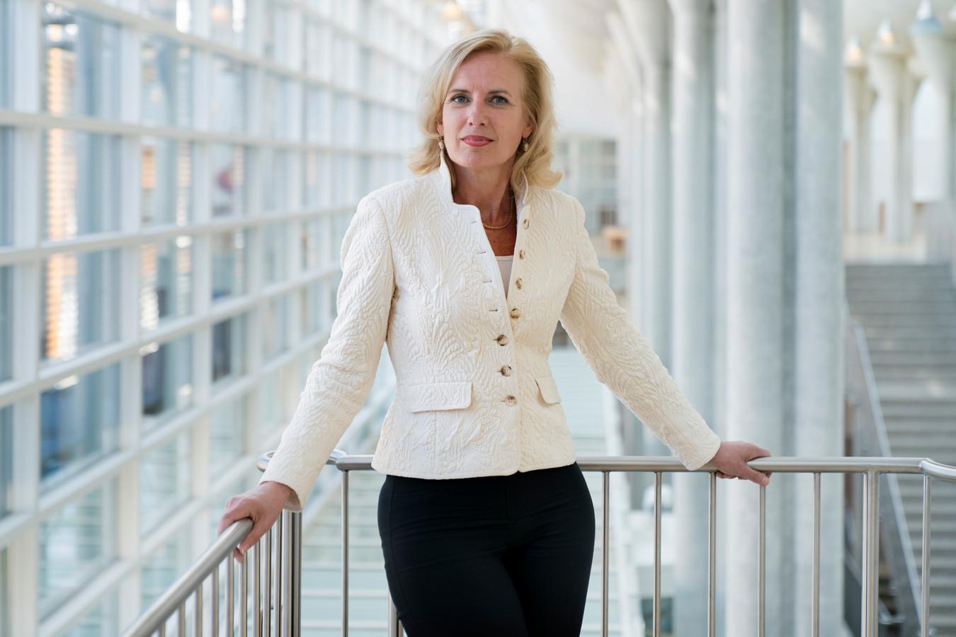 Rechtbankpresident Patricia Messer in het Paleis van Justitie in Den Bosch