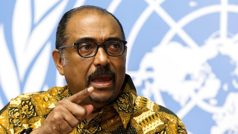 Michel Sidibé, directeur UNAIDS Beeld AP