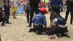 Vierde relschopper gearresteerd voor massale vechtpartij op strand in Blankenberge: verdachte is amper 17 jaar oud