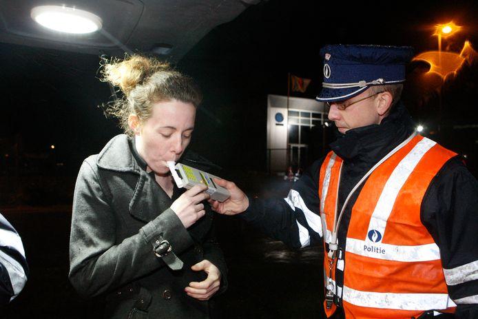 Politie onderwierp 111 bestuurders aan een ademtest.