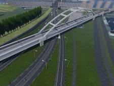 Opnieuw spectaculaire brugoperatie in de Rotterdamse haven