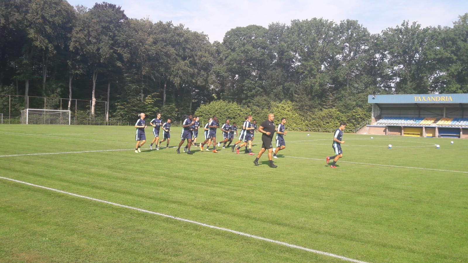 Willem II op trainingskamp in Oisterwijk.