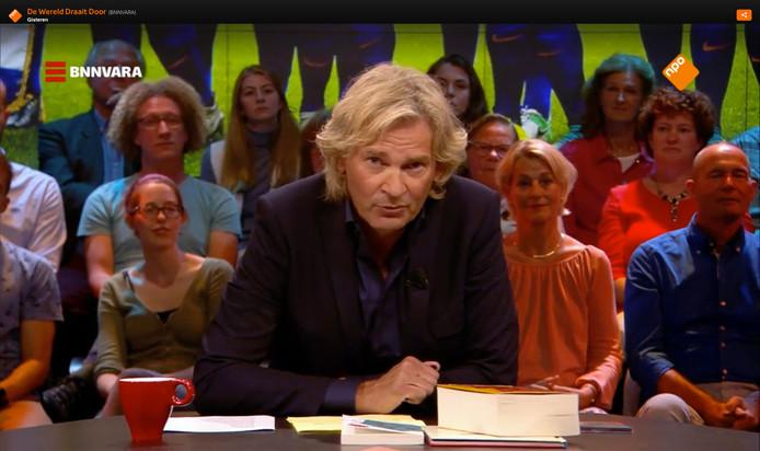 BNNVARA vreest Matthijs van Nieuwkerk kwijt te raken aan een commerciële omroep.