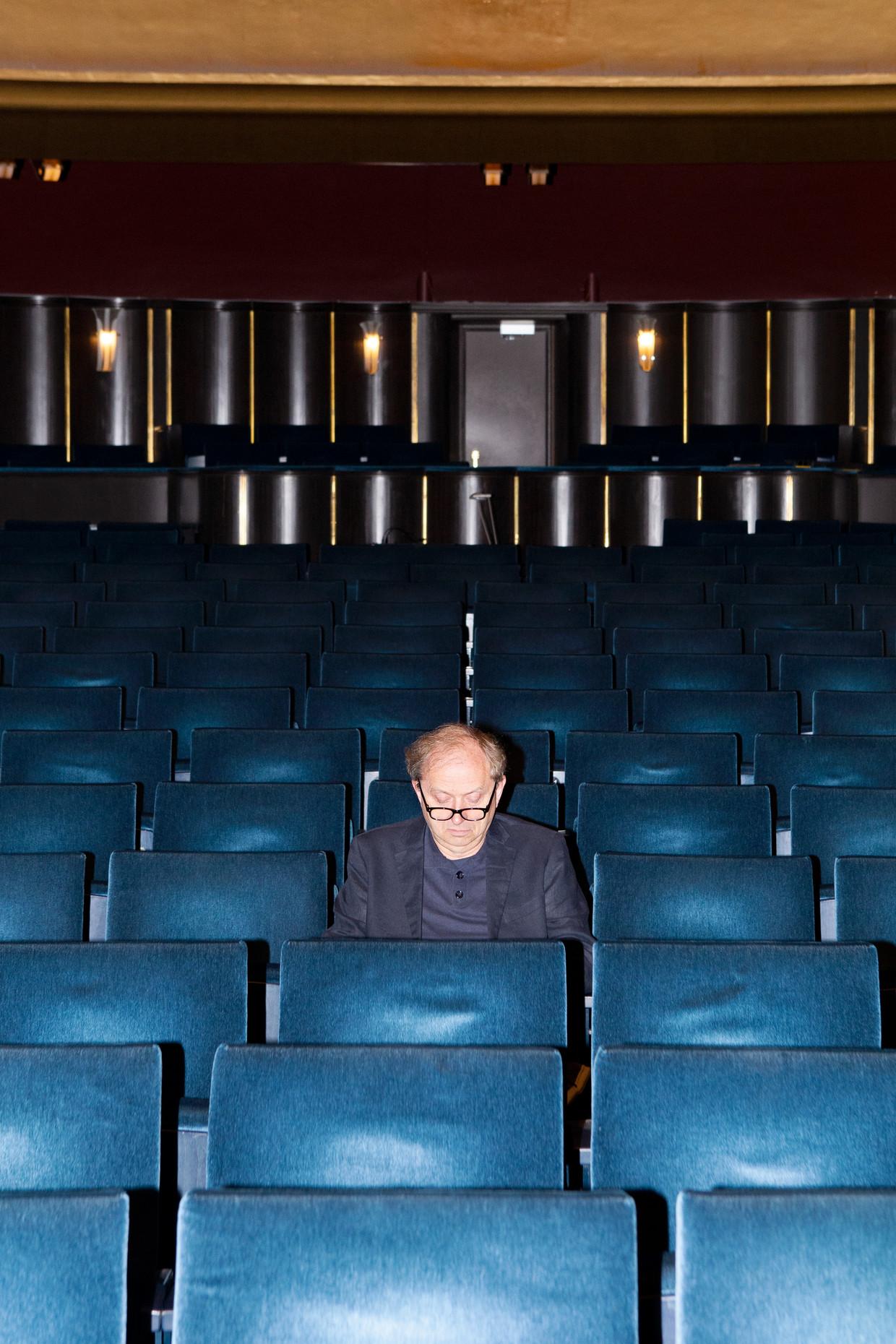 Musis en Stadstheater directeur Hans Verbugt.  Beeld Sanne Zurné