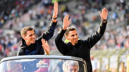FOTO. Europese helden krijgen feestelijk onthaal op Memorial Van Damme