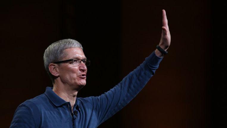 Apple-ceo Tim Cook Beeld ANP