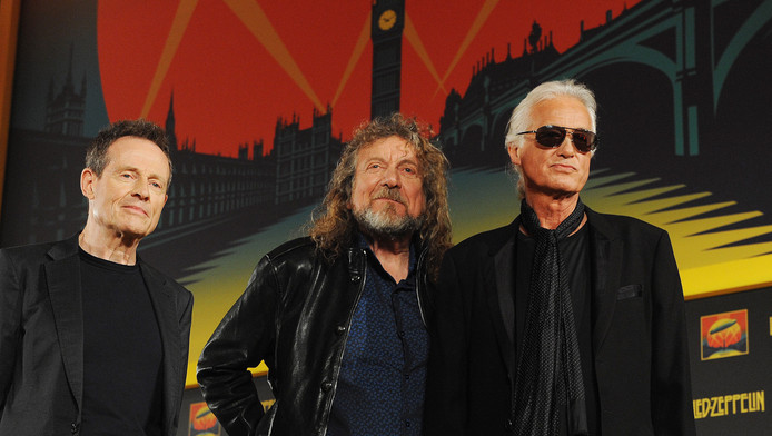 John Paul Jones, Robert Plant et Jimmy Page
