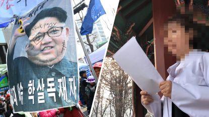"""Obscure protestgroep roept zichzelf uit tot """"regering in ballingschap"""" van Noord-Korea"""