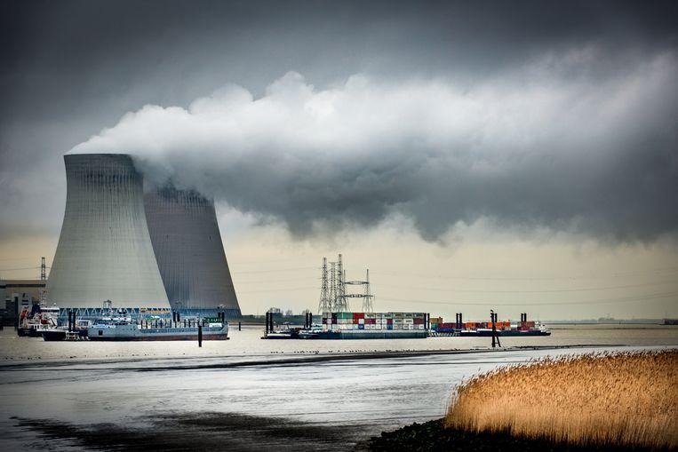 Kerncentrale in Doel  Beeld © Bart Leye