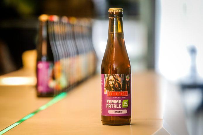De Femme Fatale Bio is het nieuwe biobier van brouwerij De Leite.