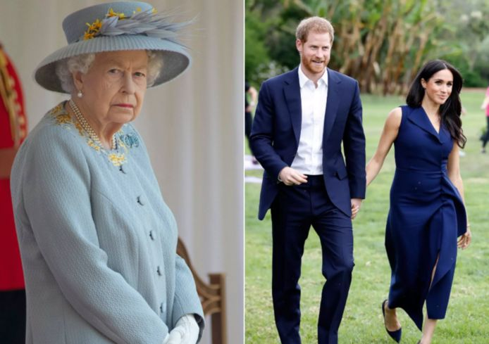 De Queen heeft het gehad met Harry en Meghan.