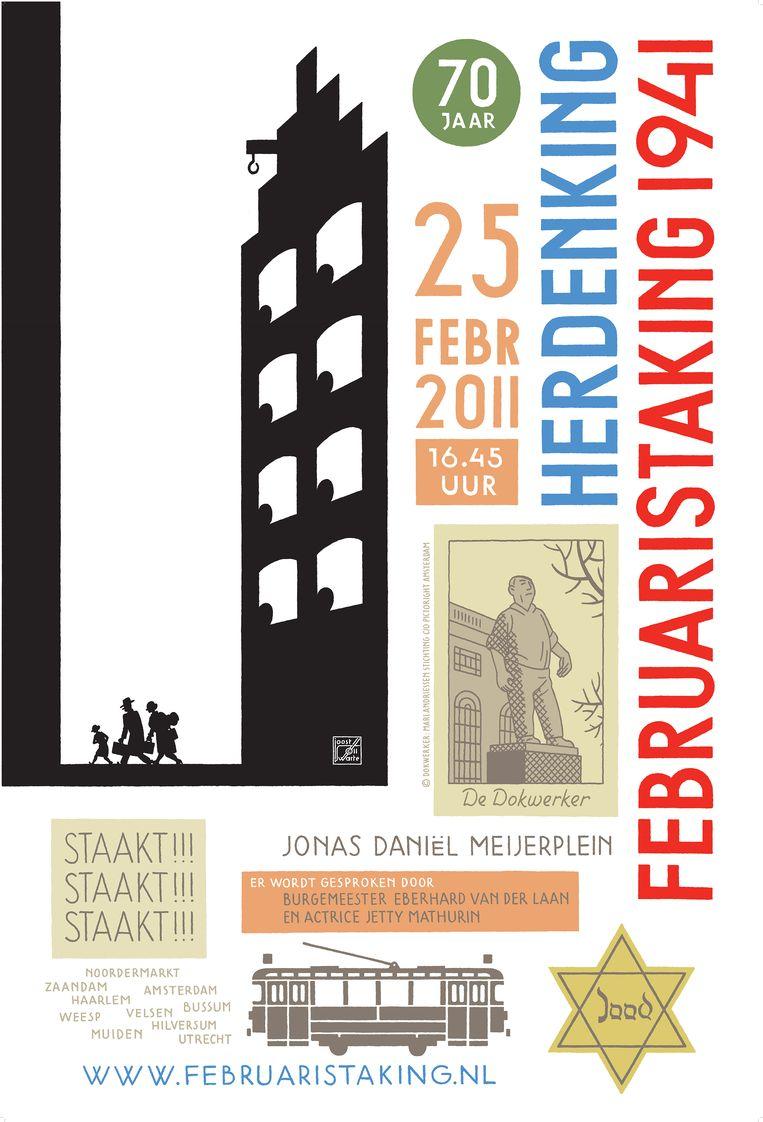 2011. Beeld Comité Herdenking Februaristaking 1941