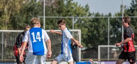 Kerkwijk wint met zes nul in de derby