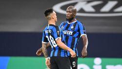 Romelu Lukaku trapt Inter naar kwartfinales Europa League
