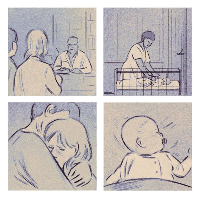 'Bij de gedachte dat ik hem niet rustig krijg, breekt het zweet me uit' Beeld Isabel Seliger
