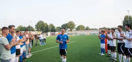 Iwan Bos krijgt het afscheid bij SDC Putten dat hij wenst: publiek langs de lijn en een volle kantine