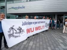 Protest tegen windmolens: 'Jullie slapen er geen nacht minder om. WIJ WEL'