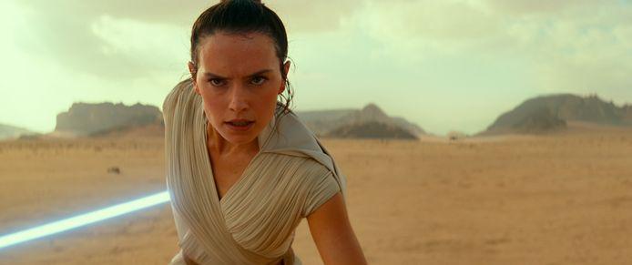 Daisy Ridley in 'Star Wars'.