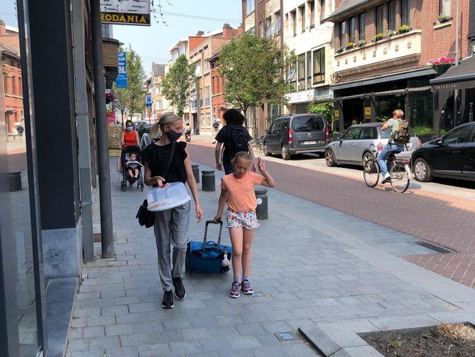 Vanaf vandaag is het dragen van een mondmasker niet meer verplicht in de Leuvensestraat.