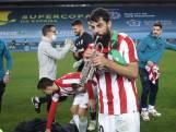 Athletic Bilbao-spelers vieren feest met trompet na gewonnen SuperCopa
