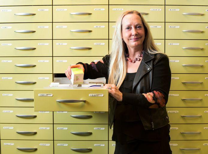 Mijdrecht - Apotheker Yvonne Jordan opent binnenkort een nieuwe vestiging in Wilnis (Foto Marnix Schmidt)