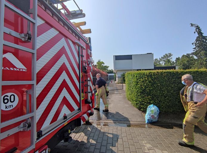De brandweer kon het vuur vrijwel meteen blussen