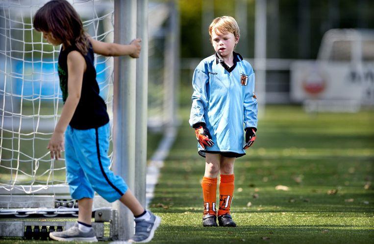 Voetbalbeker: Sporting Martinus F9 - RKAVIC F3, Amstelveen. Beeld Klaas Jan van der Weij