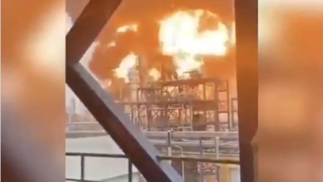 Brand in grootste olieraffinaderij van Koeweit