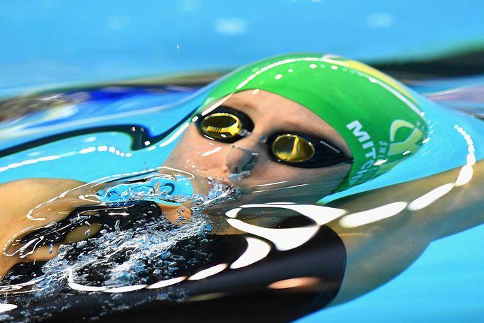 De Australische zwemster Caitlin Mitchell.