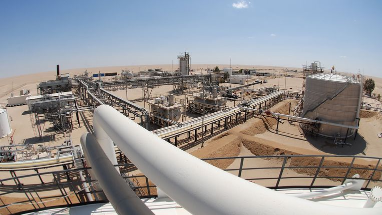 Wintershall hervat productie in de Libische sahara Beeld AFP