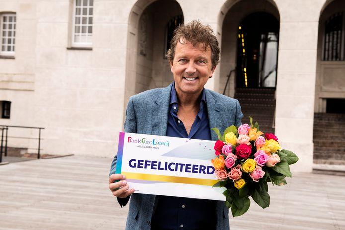 BankGiro Loterij-ambassadeur Robert ten Brink.