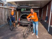 De kofferbak blijft leeg op Oranjedag in Tubbergen, wel wandel- en fietstochten