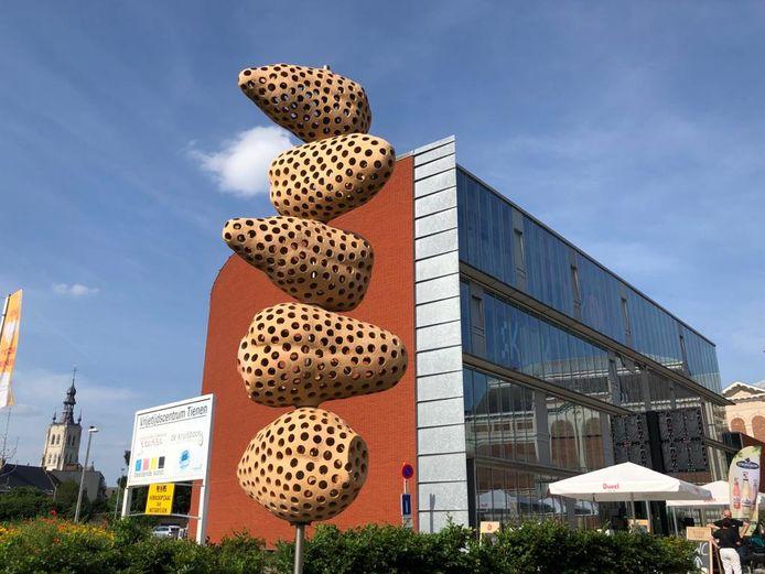 Academie Regio Tienen,  afdeling Beeldende en Audiovisuele kunst aan het Sint-Jorisplein in Tienen.