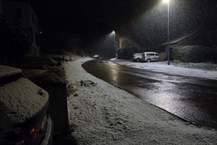 Sneeuw in Holsbeek