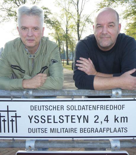Duitse kruizen krijgen in Ysselsteyn steeds meer een gezicht