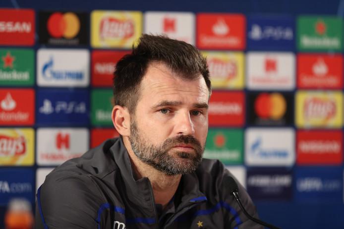 Ivan Leko, de Kroatische coach van Club Brugge.