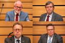 In het onderzoeksrapport staat het woord 'burgemeester' zo'n honderd keer genoemd, het woord wethouder (Laurens Klappe, Hans de Haan, Wouter Vogelsang en Leo van der Velden) ongeveer tien keer.