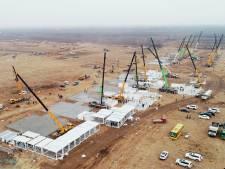La Chine construit un nouveau centre de quarantaine alors que les contaminations à la Covid-19 augmentent