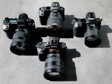 Lachen naar het sensortje: de vier beste fullframe camera's getest