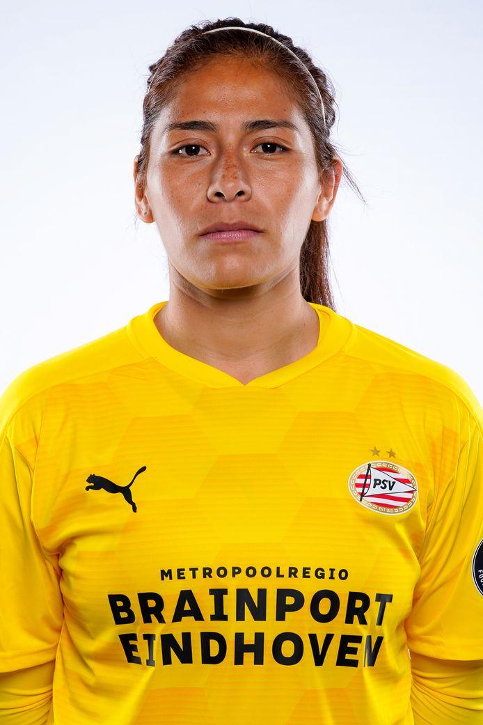 PSV-keeper Cecilia Santiago