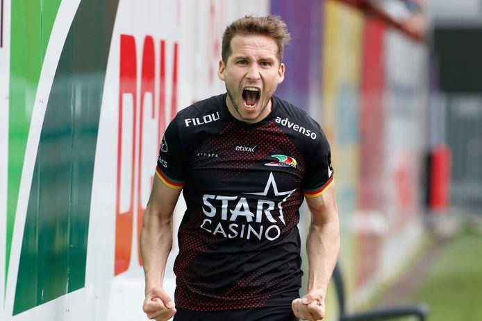 Hjulsager zorgde knap voor 3-3. Maar KV Mechelen scoorde nadien nog twee keer.