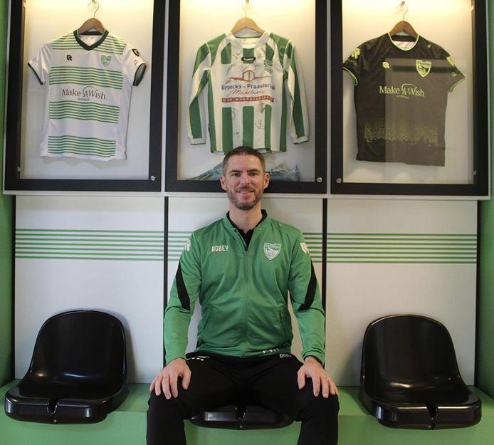 Patrick van Hout blijft ook in het seizoen 2021-2022 trainer van SV Brandevoort.