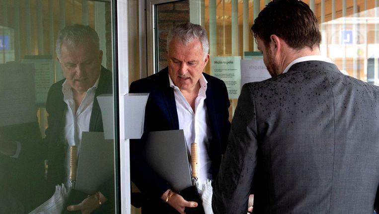 Misdaadverslaggever Peter R. de Vries arriveert bij de Bunker Beeld ANP