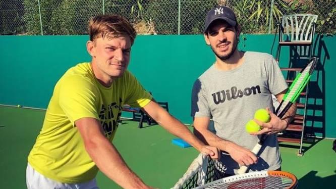 """David Goffin bereidt zich deze week in Turkije voor op Australian Open: """"Hoop dat mijn bubbelpartners het niet op een feesten zetten"""""""