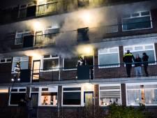 Wasdroger in brand in Papendrechtse flatwoning