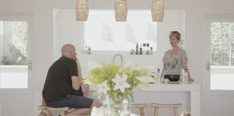 Eric Goens en Sabine Hagedoren Beeld VRT